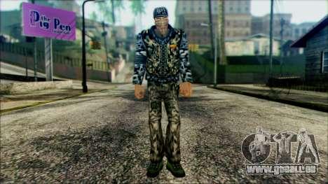 Manhunt Ped 21 pour GTA San Andreas
