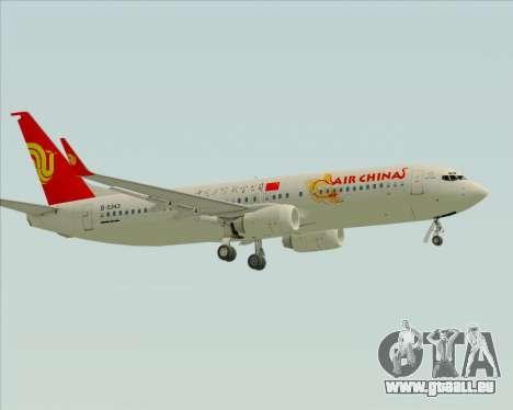 Boeing 737-89L Air China pour GTA San Andreas vue arrière
