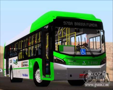 Caio Induscar Millennium BRT Viacao Gato Preto pour GTA San Andreas moteur
