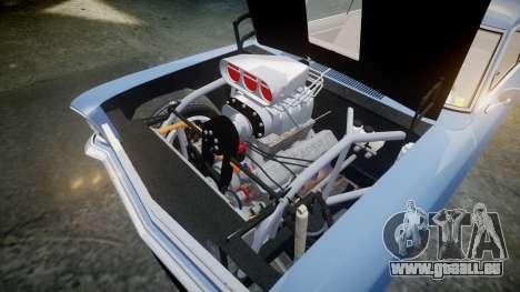 Chevrolet II Nova SS 1966 Custom [EPM] PJ1 pour GTA 4 est une vue de l'intérieur