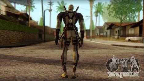 Xforce Deadpool The Game Cable pour GTA San Andreas deuxième écran