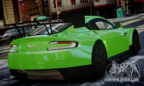 Aston Martin Vantage GTE pour GTA 4 est une gauche
