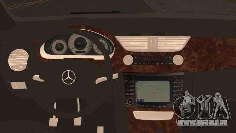 Mercedes-Benz CLS 350 pour GTA San Andreas sur la vue arrière gauche