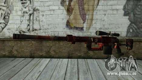 Sniper Rifle from PointBlank v3 für GTA San Andreas