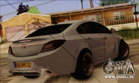 Opel Insignia OPC ATS Cup für GTA San Andreas linke Ansicht