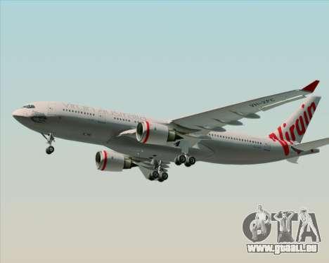Airbus A330-200 Virgin Australia für GTA San Andreas rechten Ansicht