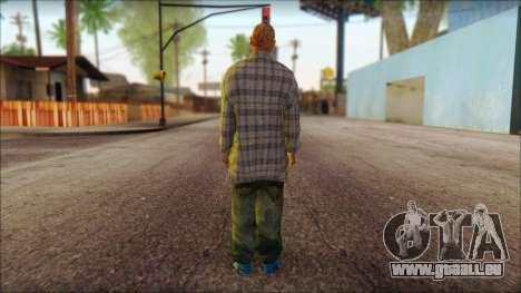 Los Aztecas Gang Skin v1 pour GTA San Andreas deuxième écran