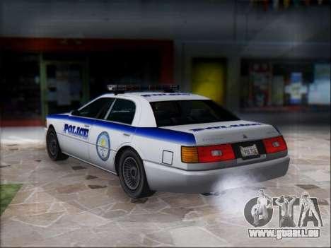 Admiral Police für GTA San Andreas rechten Ansicht