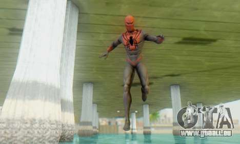 Skin The Amazing Spider Man 2 - Suit Assasin für GTA San Andreas dritten Screenshot
