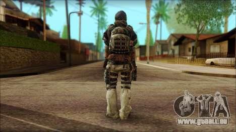 Vétéran (M) v2 pour GTA San Andreas deuxième écran