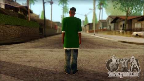 Sweet v2 pour GTA San Andreas deuxième écran