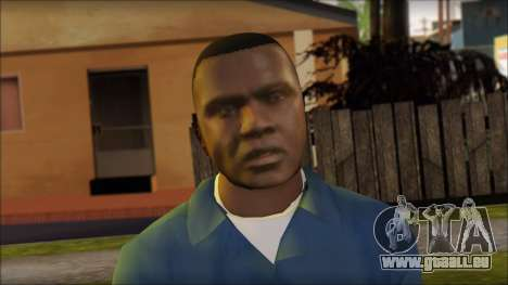 Franklin from GTA 5 für GTA San Andreas dritten Screenshot