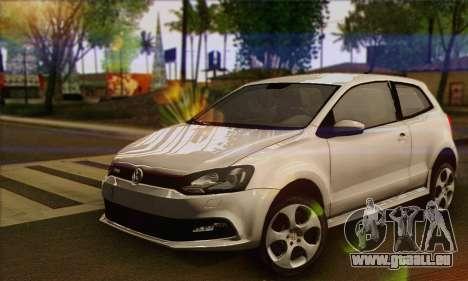 Volkswagen Polo GTi 2011 pour GTA San Andreas