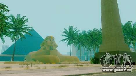 Neue Texturen der Pyramide in Las Venturas für GTA San Andreas zweiten Screenshot