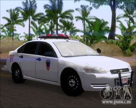 Chevrolet Impala 2006 Tallmage Batalion Chief 2 für GTA San Andreas linke Ansicht