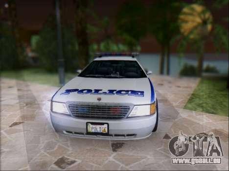 Admiral Police für GTA San Andreas linke Ansicht