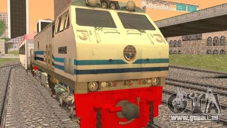 GE U20C CC 203 Old Livery für GTA San Andreas linke Ansicht