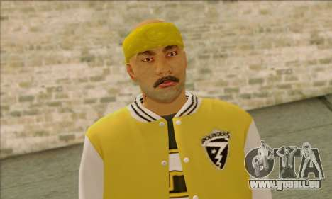 Vagos from GTA 5 Skin 3 für GTA San Andreas dritten Screenshot