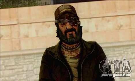 Kenny from The Walking Dead v3 für GTA San Andreas dritten Screenshot
