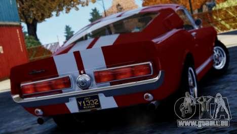 Shelby Cobra GT500 1967 pour GTA 4 est une gauche