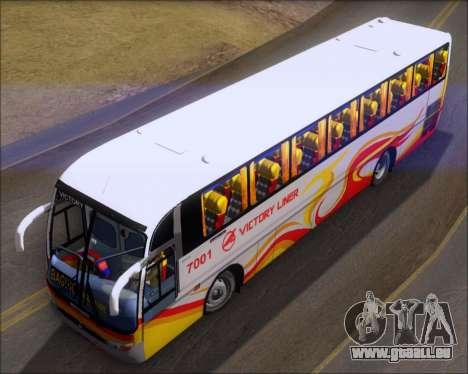Marcopolo Victory Liner 7001 für GTA San Andreas Rückansicht