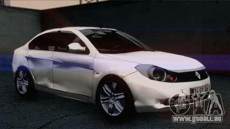 Renault Symbol 2009 für GTA San Andreas