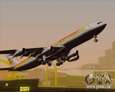 Airbus A340 -313 Iberia für GTA San Andreas obere Ansicht