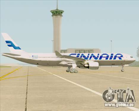 Airbus A330-300 Finnair (Current Livery) pour GTA San Andreas vue intérieure