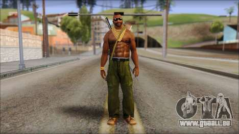 MR T Skin v9 für GTA San Andreas