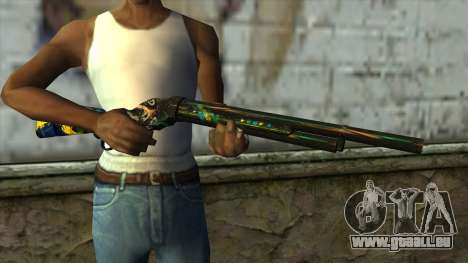 M1887 from PointBlank v2 pour GTA San Andreas troisième écran