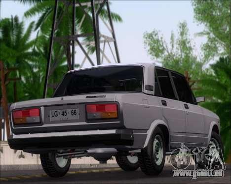 LADA 2107 pour GTA San Andreas