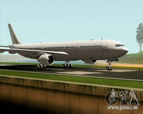 Airbus A330-300 Full White Livery für GTA San Andreas linke Ansicht