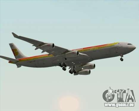 Airbus A340 -313 Iberia für GTA San Andreas Innenansicht