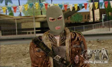 Arctic Avenger (Tactical Intervention) v3 für GTA San Andreas dritten Screenshot