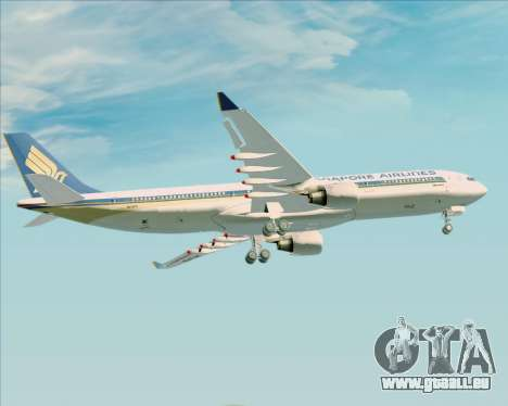 Airbus A330-300 Singapore Airlines für GTA San Andreas Motor