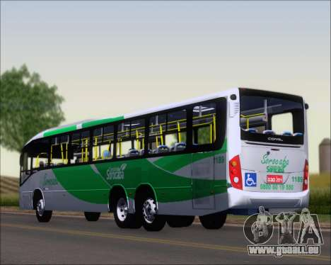 Comil Svelto BRT Scania K310IB 6x2 Sorocaba für GTA San Andreas linke Ansicht