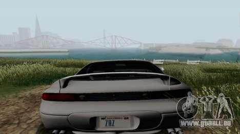 Mitsubishi 3000GT pour GTA San Andreas sur la vue arrière gauche