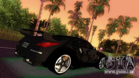 Nissan 350Z Veiside DK für GTA Vice City linke Ansicht