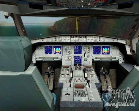 Airbus A330-300P2F DHL für GTA San Andreas Innen