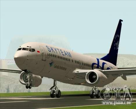 Boeing 737-86N Garuda Indonesia für GTA San Andreas