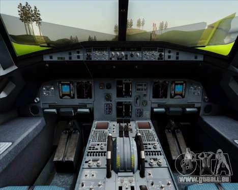 Airbus A320-214 S7-Siberia Airlines für GTA San Andreas Motor