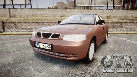 Daewoo Nubira I Sedan S PL 1997 für GTA 4
