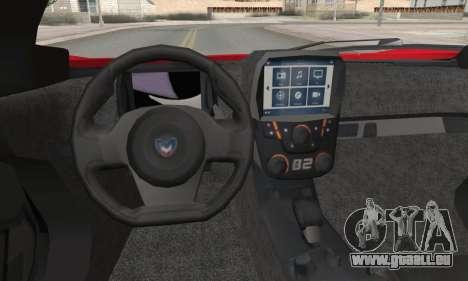 Marussia B2 pour GTA San Andreas vue arrière
