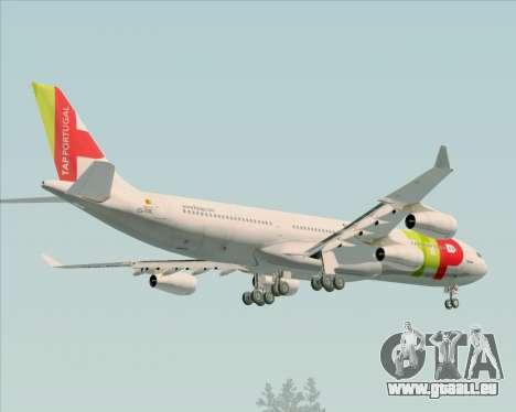 Airbus A340-312 TAP Portugal für GTA San Andreas Innen