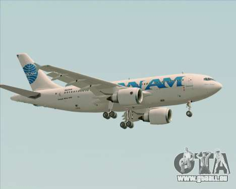Airbus A310-324 Pan American World Airways für GTA San Andreas Unteransicht
