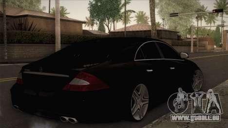 Mercedes-Benz CLS 350 pour GTA San Andreas laissé vue