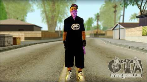 East Side Ballas Skin 2 pour GTA San Andreas