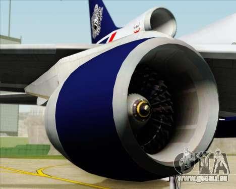 Lockheed L-1011 TriStar British Airways pour GTA San Andreas vue de côté