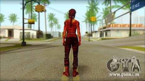 Tomb Raider Skin 9 2013 pour GTA San Andreas deuxième écran