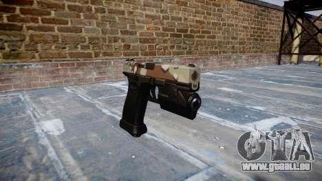 Pistolet Glock 20 choco pour GTA 4